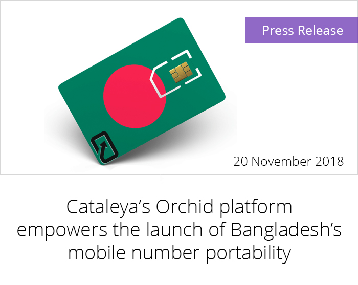Cataleya's Orchid platform empowers the launch of Bangladesh's